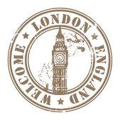 London England stamp