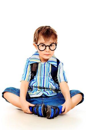 Preschooler boy