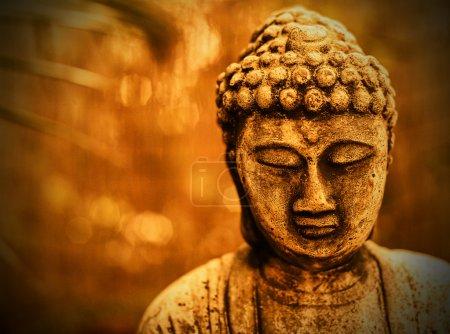 Bouddha en sépia