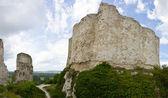 Richard Lví srdce zříceniny hradu - panorama