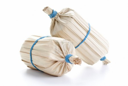 Balachan Wrapped in Dried Coconut Leaves...