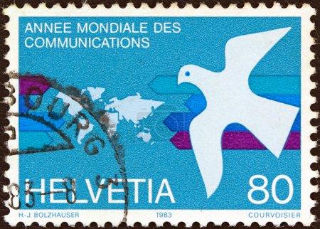 SWITZERLAND - CIRCA 1983: A stamp printed in Switz...