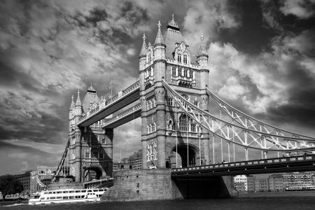 Photo for Famous Tower Bridge in London, UK - Royalty Free Image
