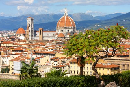 Florence cathédrale, Toscane, Italie