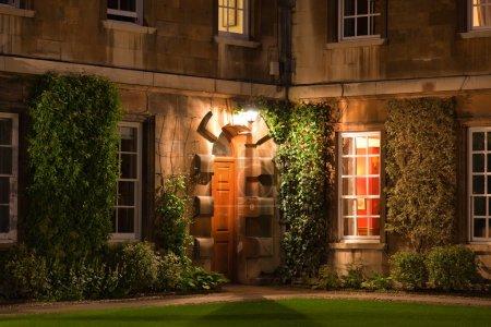 Photo pour Collège de Trinity hall. Cambridge. UK. - image libre de droit