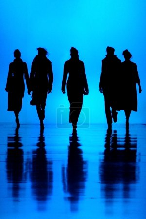 Women's fashion silhouettes