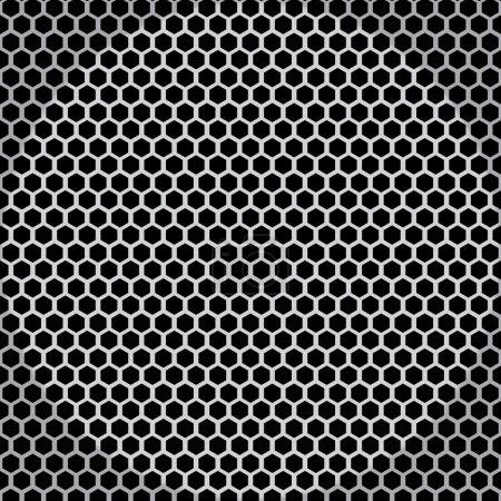 Metal net seamless texture