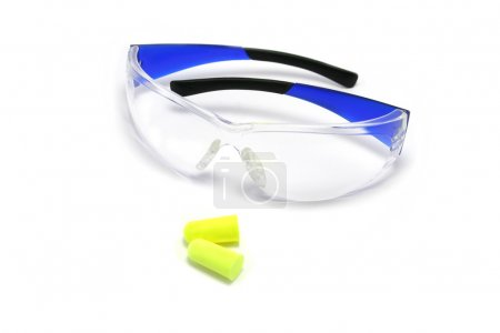 Safety Glasses and Earplugs