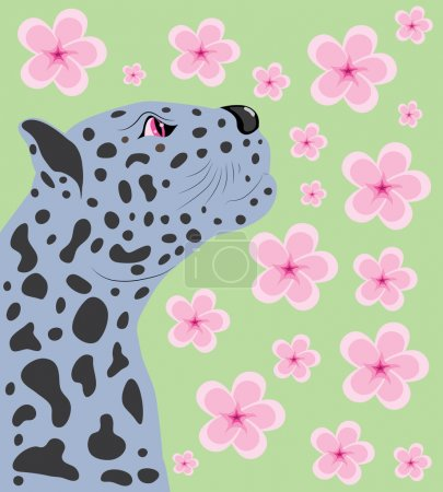 Panther and Oriental cherry.