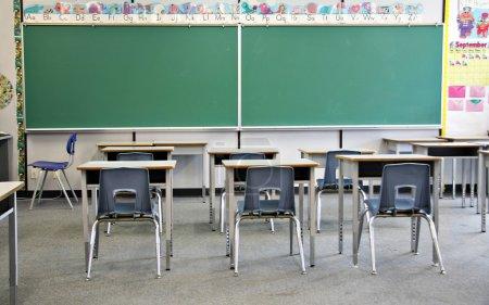 Foto de Interior salón de primaria. - Imagen libre de derechos