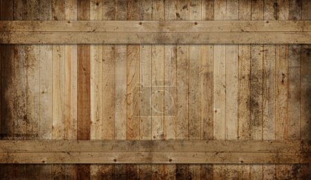 Photo for Weathered cedar background panel. - Royalty Free Image