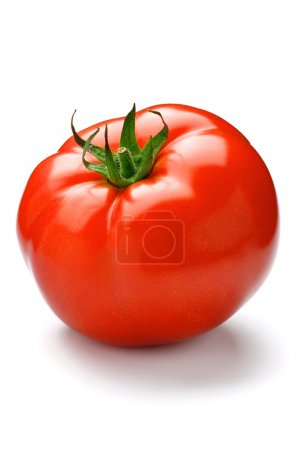 Photo for Tomato isolated on white - Royalty Free Image