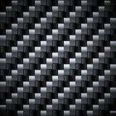 Seamless carbon vector texture.