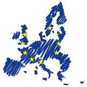 Map sketch Europe