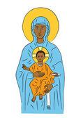 Marie a Ježíš