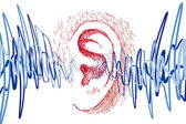 Ear and sound waves