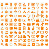 Business Icons Collection items button