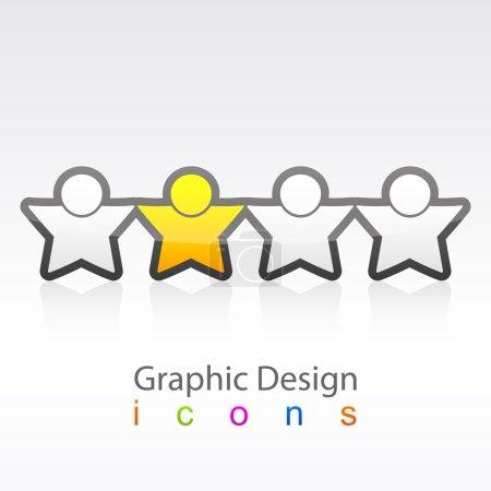 Graphic Design Social Icon.