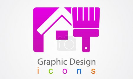 Illustration for Repair Graphic Design. - Royalty Free Image