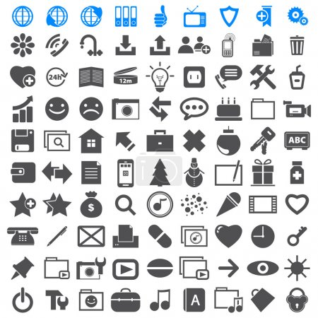 Business Icons collection different.