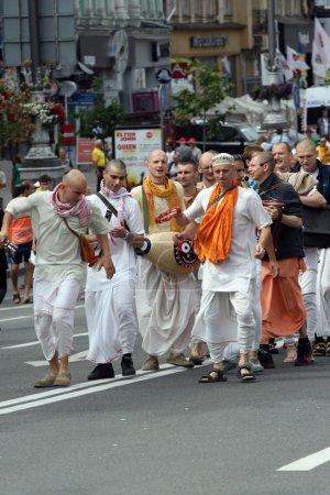 Hare Krishna demonstration