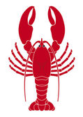 Lobster logo vector illustration