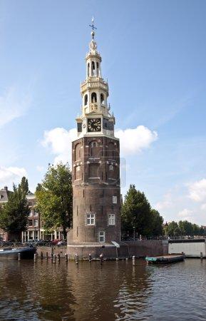 Photo pour Westerkerk à Amsterdam Pays-Bas - image libre de droit