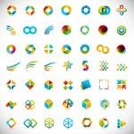 49 design elements - creative symbols collection...