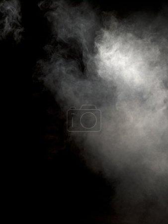 Image of fog over dark background