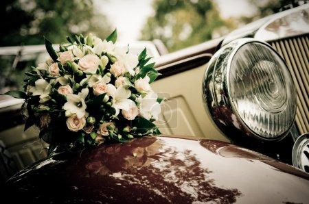 Photo pour Fleurs de mariage - image libre de droit