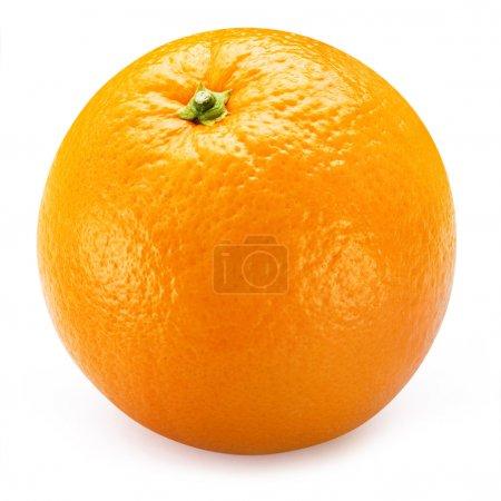 Photo pour Agrume frais orange isolé sur fond blanc - image libre de droit