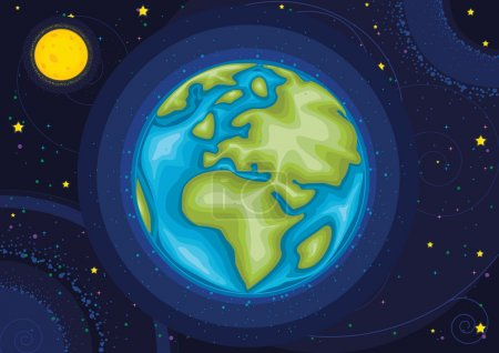 Illustration for World vector illustration EPS8 - Royalty Free Image
