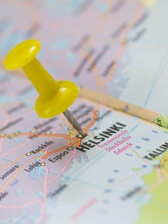 Helsinki on the map