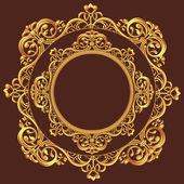 Golden Circle Ornament