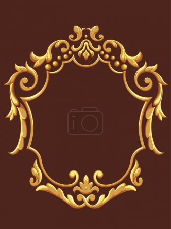 Illustration for A vector set of a beautiful ornament, consist of many individual ornament. Looks luxurious and exclusive, this vector is very good for card, brochure, invitation, or other application that needs exclusive look. - Royalty Free Image