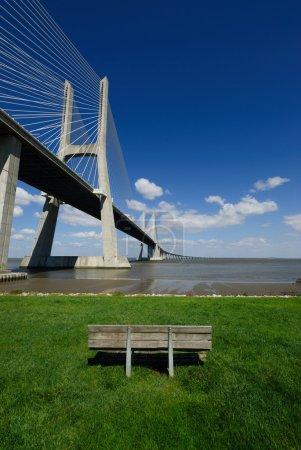 Bridge portrait
