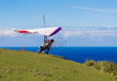 A Leap of Faith - Hang Glider