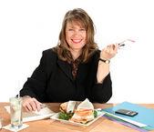Podnikatelka oběd