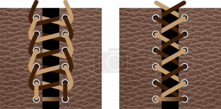 Illustration for Shoelaces - Royalty Free Image