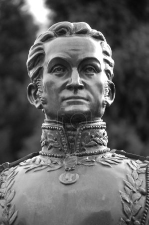 Simon Bolivar (1783-1830). Remembered as the Found...
