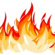 Vector illustration of flames...