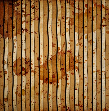 Vintage background with stripes ans stains
