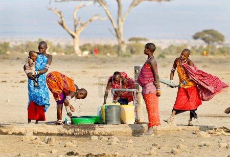 Tribeswoman Kenya, Africa