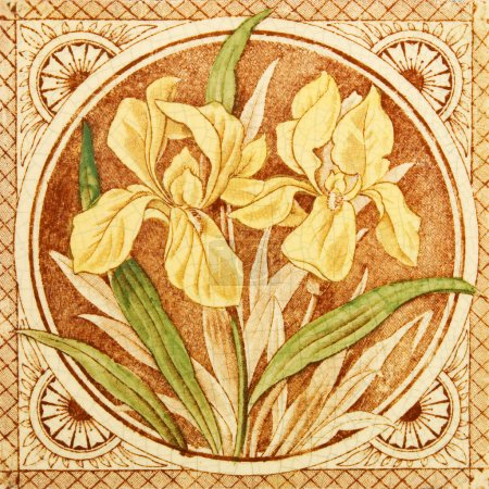Arts & Crafts Antique Tile