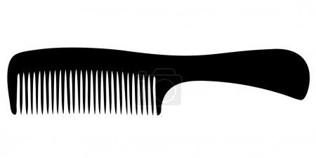 Comb silhouette