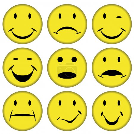 smilies and faces