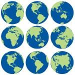 Globes - illustration for the web...