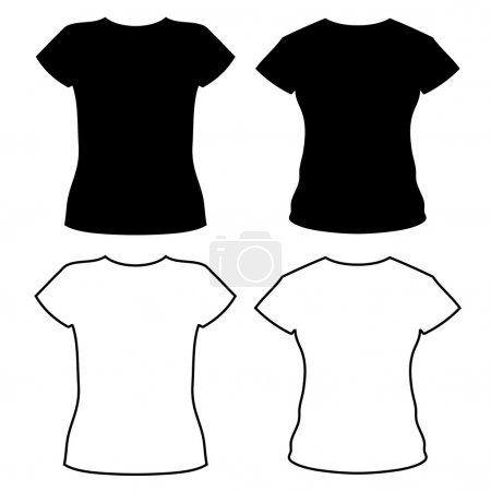 t-shirt silhouettes
