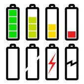 symbols of battery level