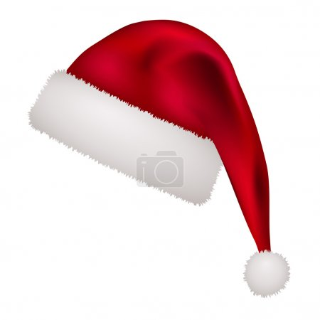 Illustration for Christmas hat - illustration for the web - Royalty Free Image